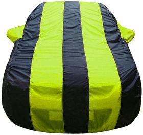 Autofurnish Stylish Yellow Stripe Car Body Cover For Fo