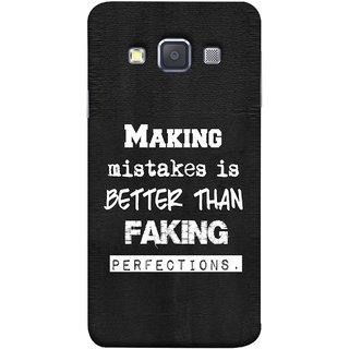 FUSON Designer Back Case Cover for Samsung Galaxy A7 (2015) :: Samsung Galaxy A7 Duos (2015) :: Samsung Galaxy A7 A700F A700Fd A700K/A700S/A700L A7000 A7009 A700H A700Yd (Motivational Inspirational Saying Quotes Words Big)