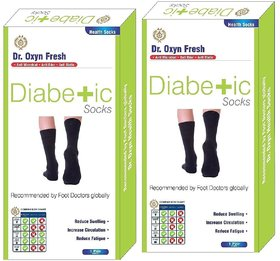 Dr OXYN Fresh Diabetic Socks For Men  Women - Health Socks For Men  Women - Ultimate Care Of Feet.
