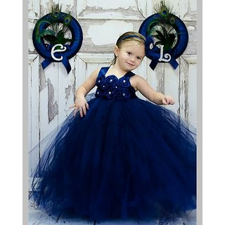 Buy S Art Fashion Baby Girls Long Net Dressgown Frockball Gown