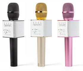 ShutterBugs Wireless Bluetooth Karaoke Singing Q9 Speaker Player with Microphone Assorted