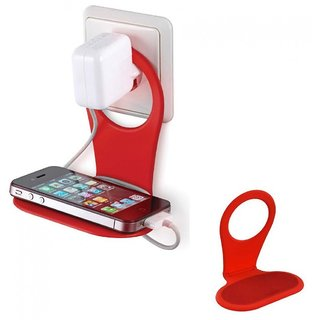 Universal Mobile Charging Stand Protection Stand for All SizesMobile Phones