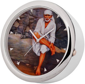 Evelyn Analog Table Clock  Car Dashboard Time Clock Quartz Watch Size 45mm EVT-11