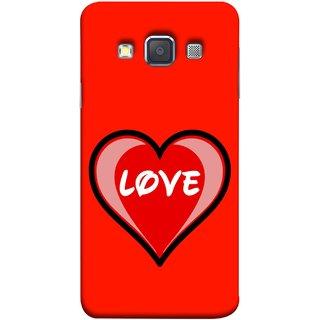 FUSON Designer Back Case Cover for Samsung Galaxy A7 (2015) :: Samsung Galaxy A7 Duos (2015) :: Samsung Galaxy A7 A700F A700Fd A700K/A700S/A700L A7000 A7009 A700H A700Yd (Pink Red Wallpapers Flowers Lovers Boyfriends )