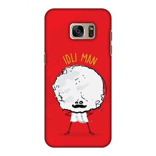 Samsung GALAXY S7 Edge SM-G935F Designer Case Idli Man for Samsung GALAXY S7 Edge SM-G935F