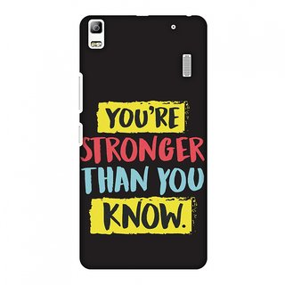 Lenovo A7000,Lenovo A7000 Turbo,Lenovo K3 Note Designer Case You Are Stronger Than.. for Lenovo A7000,Lenovo A7000 Turbo,Lenovo K3 Note