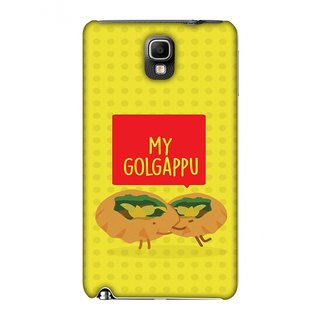 Samsung GALAXY Note 3 SM-N900,Samsung GALAXY Note 3 SM-N9000,Samsung GALAXY Note 3 SM-N9005 Designer Case My Golgappu for Samsung GALAXY Note 3 SM-N900,Samsung GALAXY Note 3 SM-N9000,Samsung GALAXY Note 3 SM-N9005