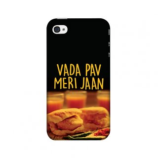 iPhone 4,iPhone 4S Designer Case Vada Pav Meri Jaan! for iPhone 4,iPhone 4S