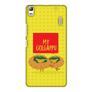 Lenovo A7000,Lenovo A7000 Turbo,Lenovo K3 Note Designer Case My Golgappu for Lenovo A7000,Lenovo A7000 Turbo,Lenovo K3 Note