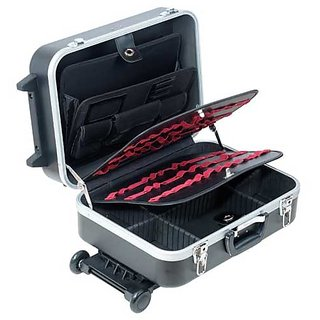 Proskit TC-311 Heavy-Duty ABS Case With Wheels And Telescoping Handle . brand new and unused
