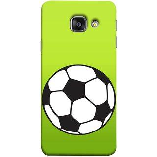 FUSON Designer Back Case Cover for Samsung Galaxy A7 (6) 2016 :: Samsung Galaxy A7 2016 Duos :: Samsung Galaxy A7 2016 A710F A710M A710Fd A7100 A710Y :: Samsung Galaxy A7 A710 2016 Edition (Football Ground Ball Black White Fifa League )