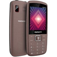 Karbonn K9 Boss Dual SIM Basic Phone (Coffee Black)