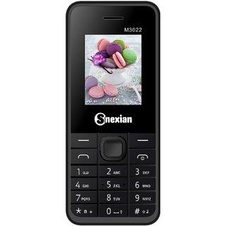 Snexian 1.8 Dual Sim feature phone M3022 Black