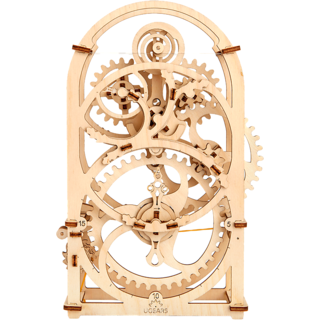 Ugears Model Timer (20 Minutes) 3D Mechanical Puzzle