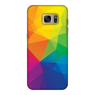 Samsung GALAXY S7 Edge SM-G935F Designer Case Polygon Fun 1 for Samsung GALAXY S7 Edge SM-G935F
