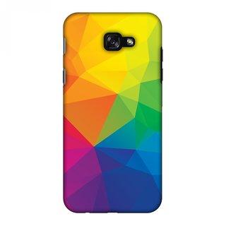 Samsung Galaxy A7 2017 Designer Case Polygon Fun 1 for Samsung Galaxy A7 2017