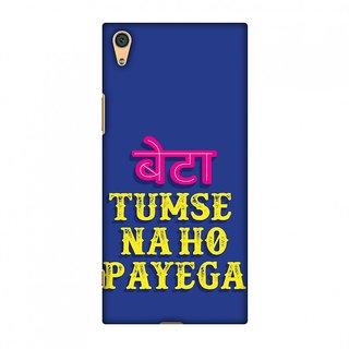 Sony Xperia XA1 Designer Case Tumse Naa Ho Payega for Sony Xperia XA1