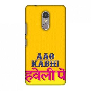 Lenovo K6 Note Designer Case Aao Kabhi for Lenovo K6 Note