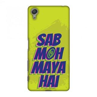 Sony Xperia X Designer Case Sab Moh Maya Hai for Sony Xperia X