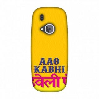 Nokia 3310 Designer Case Aao Kabhi for Nokia 3310
