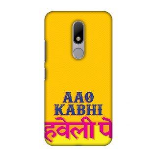 Motorola Moto M Designer Case Aao Kabhi for Motorola Moto M