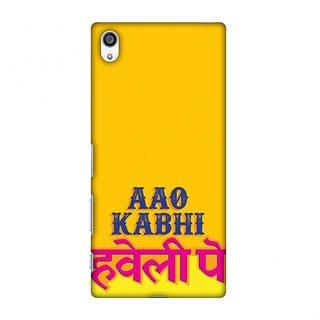 Sony Xperia Z5 Premium Designer Case Aao Kabhi for Sony Xperia Z5 Premium