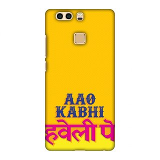 Huawei P9 Plus Designer Case Aao Kabhi for Huawei P9 Plus