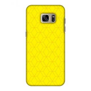 Samsung GALAXY S7 Edge SM-G935F Designer Case Hexamaze 1 for Samsung GALAXY S7 Edge SM-G935F