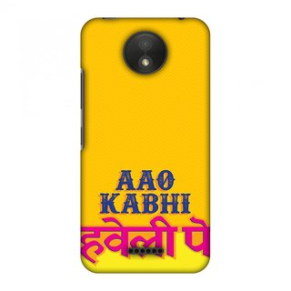 Motorola Moto C Plus Designer Case Aao Kabhi for Motorola Moto C Plus