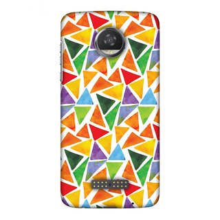 Motorola Moto Z2 Play Designer Case Bold Shapes for Motorola Moto Z2 Play