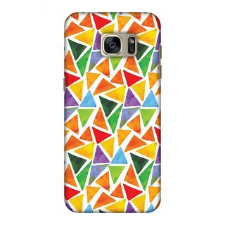 Samsung GALAXY S7 Edge SM-G935F Designer Case Bold Shapes for Samsung GALAXY S7 Edge SM-G935F