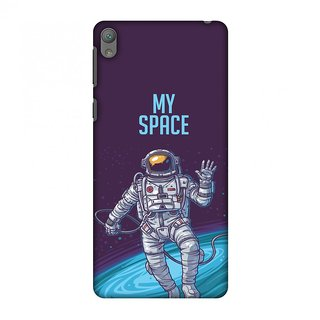 Sony Xperia E5 Designer Case I Need My Space for Sony Xperia E5