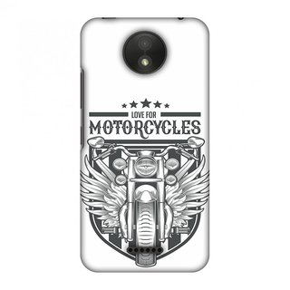 Motorola Moto C Plus Designer Case Love for Motorcycles 3 for Motorola Moto C Plus