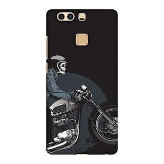 Huawei P9 Plus Designer Case Love for Motorcycles 2 for Huawei P9 Plus