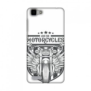 Vivo Y27 Designer Case Love for Motorcycles 3 for Vivo Y27
