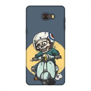 Samsung Galaxy C9 Pro Designer Case Love for Motorcycles 1 for Samsung Galaxy C9 Pro
