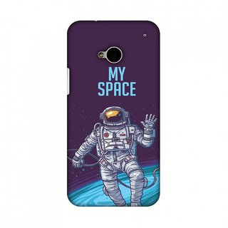 HTC One M7 Designer Case I Need My Space for HTC One M7