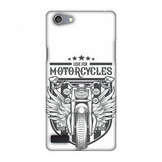 Oppo Neo 7 Designer Case Love for Motorcycles 3 for Oppo Neo 7