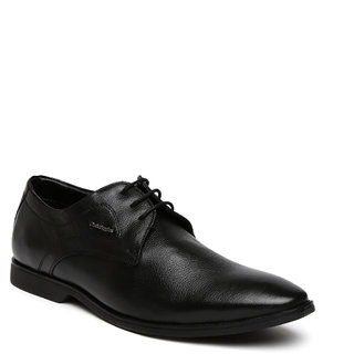 Hush Puppies Aron Black Lace Up Formal Shoes