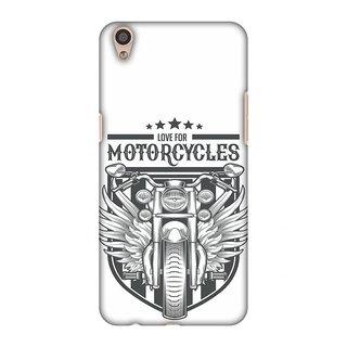 Oppo F1 Plus Designer Case Love for Motorcycles 3 for Oppo F1 Plus
