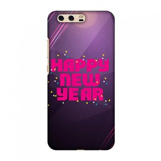 Huawei P10 Designer Case Happy New Year for Huawei P10