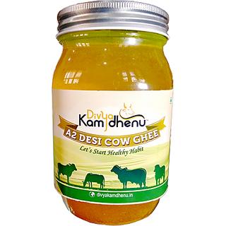 Divya Kamdhenu A2 Desi Cow Ghee (Made with Vedic Bilona Method)