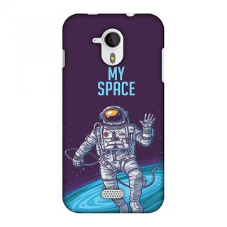 Micromax Canvas HD A116 Designer Case I Need My Space for Micromax Canvas HD A116