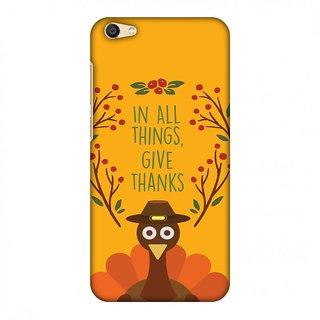 Vivo X7 Plus Thanksgiving Designer Case Wise Turkey 1 for Vivo X7 Plus