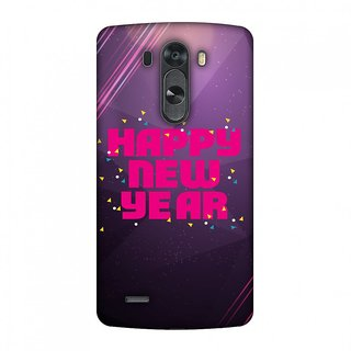 LG G4 Designer Case Happy New Year for LG G4