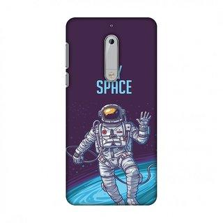 Nokia 5 Designer Case I Need My Space for Nokia 5
