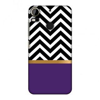 HTC Desire 10 Pro Designer Case All that Glitters Chevron 2 for HTC Desire 10 Pro