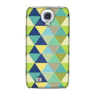Samsung GALAXY S4 GT-I9500 Designer Case Triangles & Triangles for Samsung GALAXY S4 GT-I9500