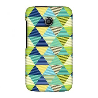 Motorola Moto E XT1022 Designer Case Triangles & Triangles for Motorola Moto E XT1022