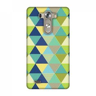 LG G3 D855 Designer Case Triangles & Triangles for LG G3 D855